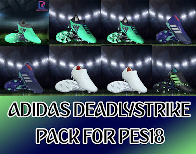 PES 2018 Adidas Deadly Strike Bootpack 2018 by LPE09