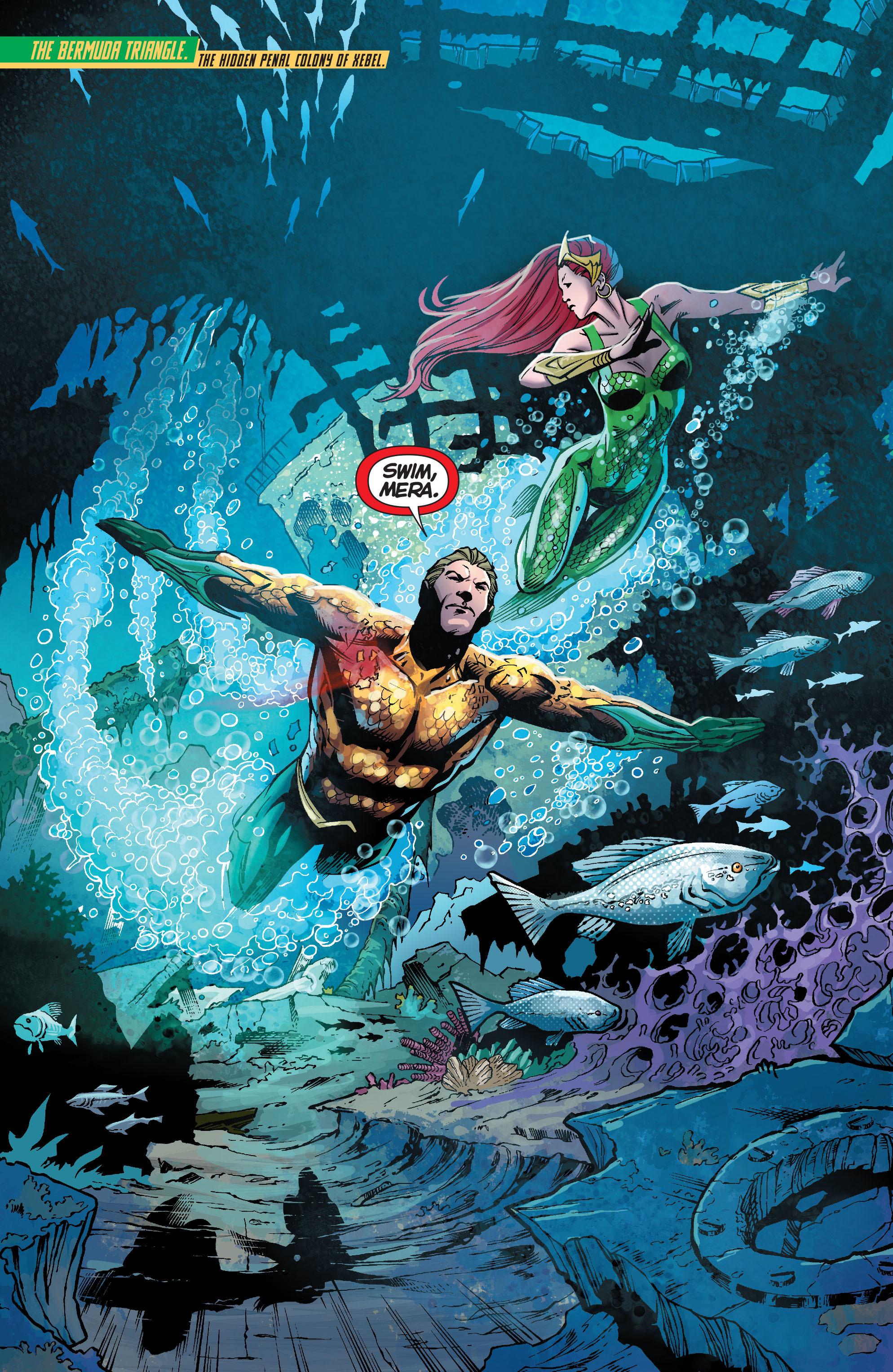 Read online Aquaman (2011) comic -  Issue #23 - 2