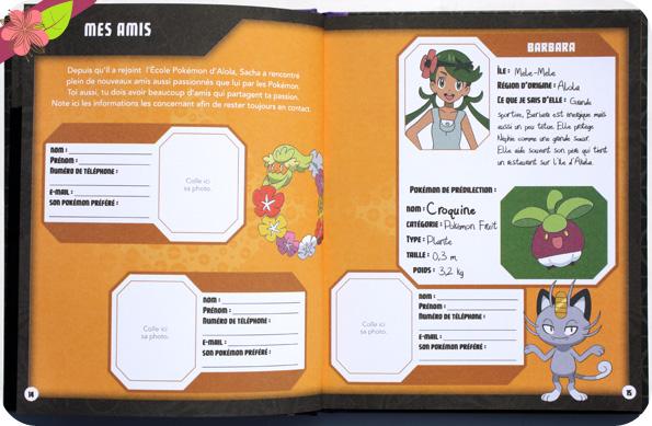 Pokémon : Mon carnet de dresseur - Hachette jeunesse