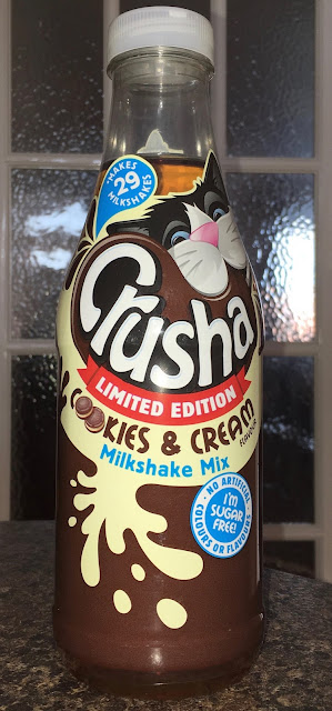 Crusha Cookies and Cream Limited Edition Milkshake Mix