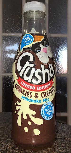 Crusha Cookies and Cream Limited Edition Milkshake Mix