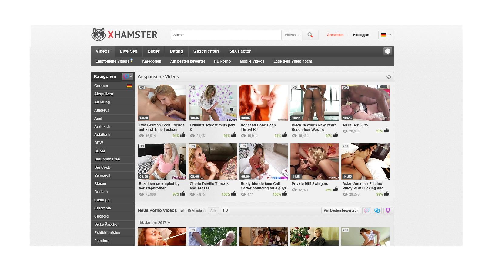 pornoseite hamster