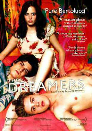 The Dreamers 2003 BRRip 300MB English 480p Watch Online Full Movie Download bolly4u