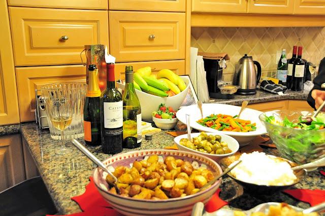thanksgiving table setting decor ideas dinner food recipe