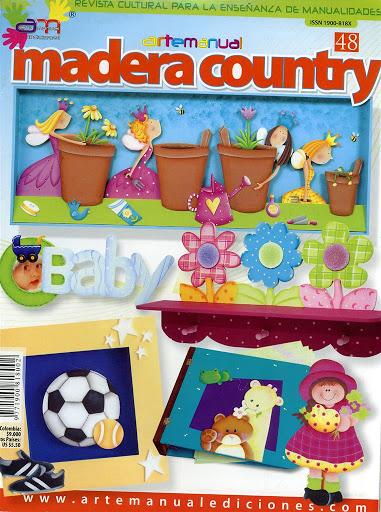 Arte Manual Nro. 48: Madera Country