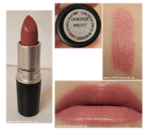 Ongekend Floral Beautyxo: Mac Modesty Lipstick LJ-96