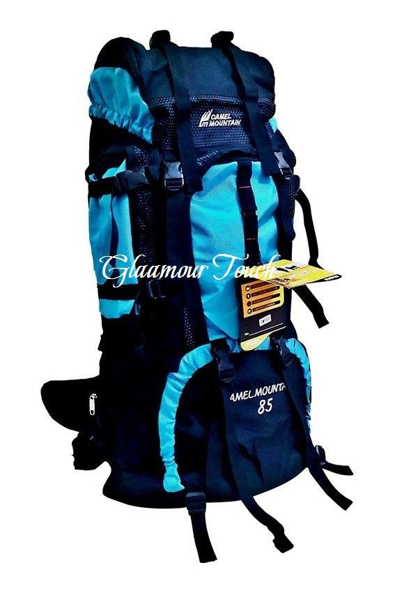 a50f4bc9d0 Camel Mountain Backpack 85 L Ocean Blue | DENISH MULTI E-SHOPPE