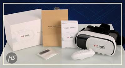 Virtual Reality Murah / Vr Box 2 + Remote Control Bluetooth