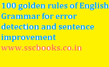 english 100 error detection correctio Winners are those who can use the simplest method for solving a question so that they have enough time for solving all the questions in examination, correctly without any tense.