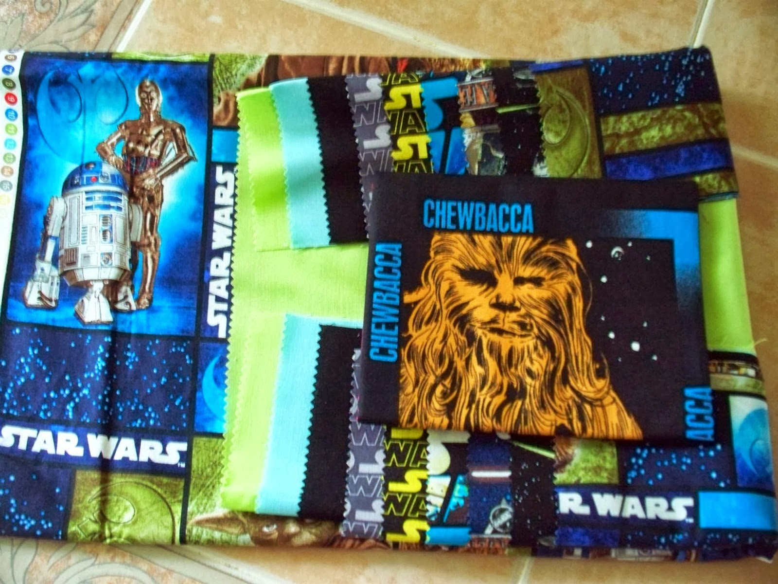 Uniquely Yours Creations: Star Wars Quilt Progress