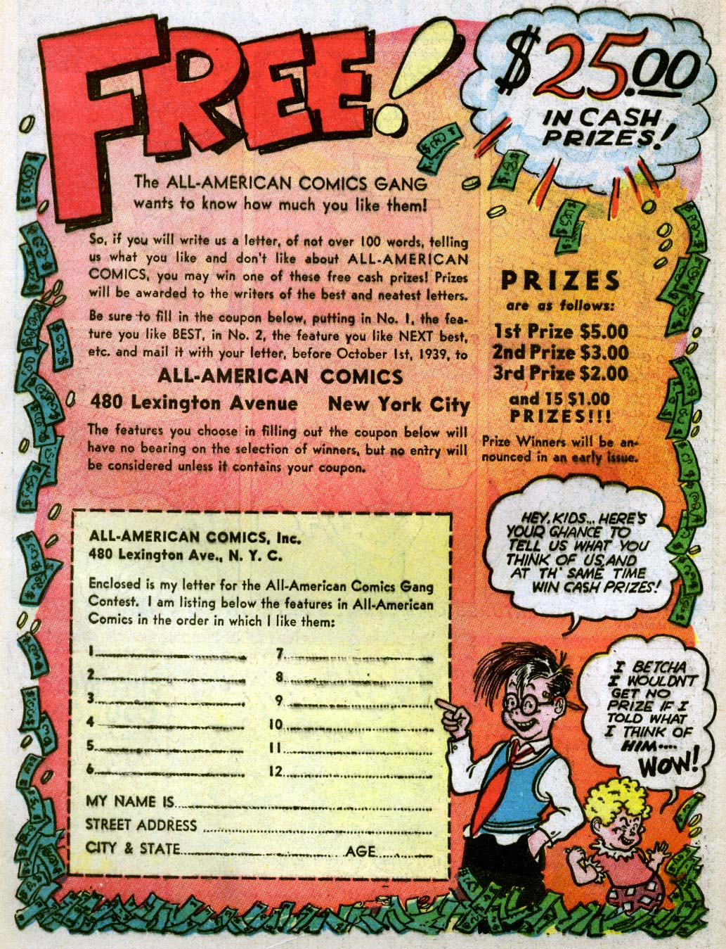 Read online All-American Comics (1939) comic -  Issue #7 - 66