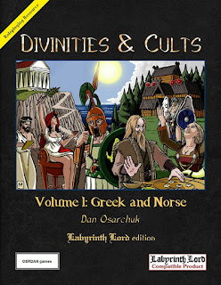 http://www.drivethrurpg.com/product/148743/Divinities-and-Cults-Labyrinth-Lord