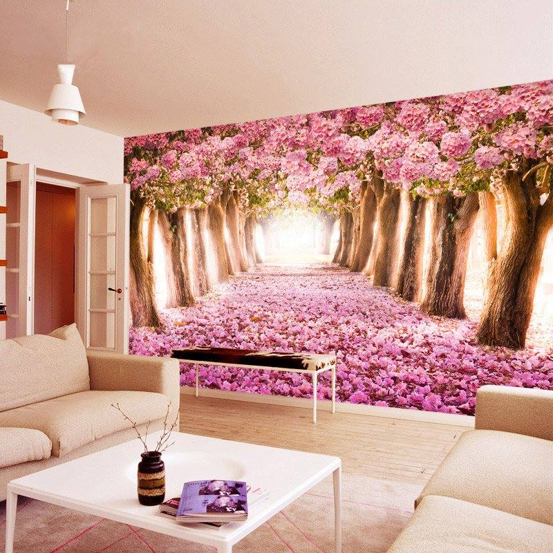 50 Photos Of Wall Sticker Decorations That Will Bring Nature In Your ...