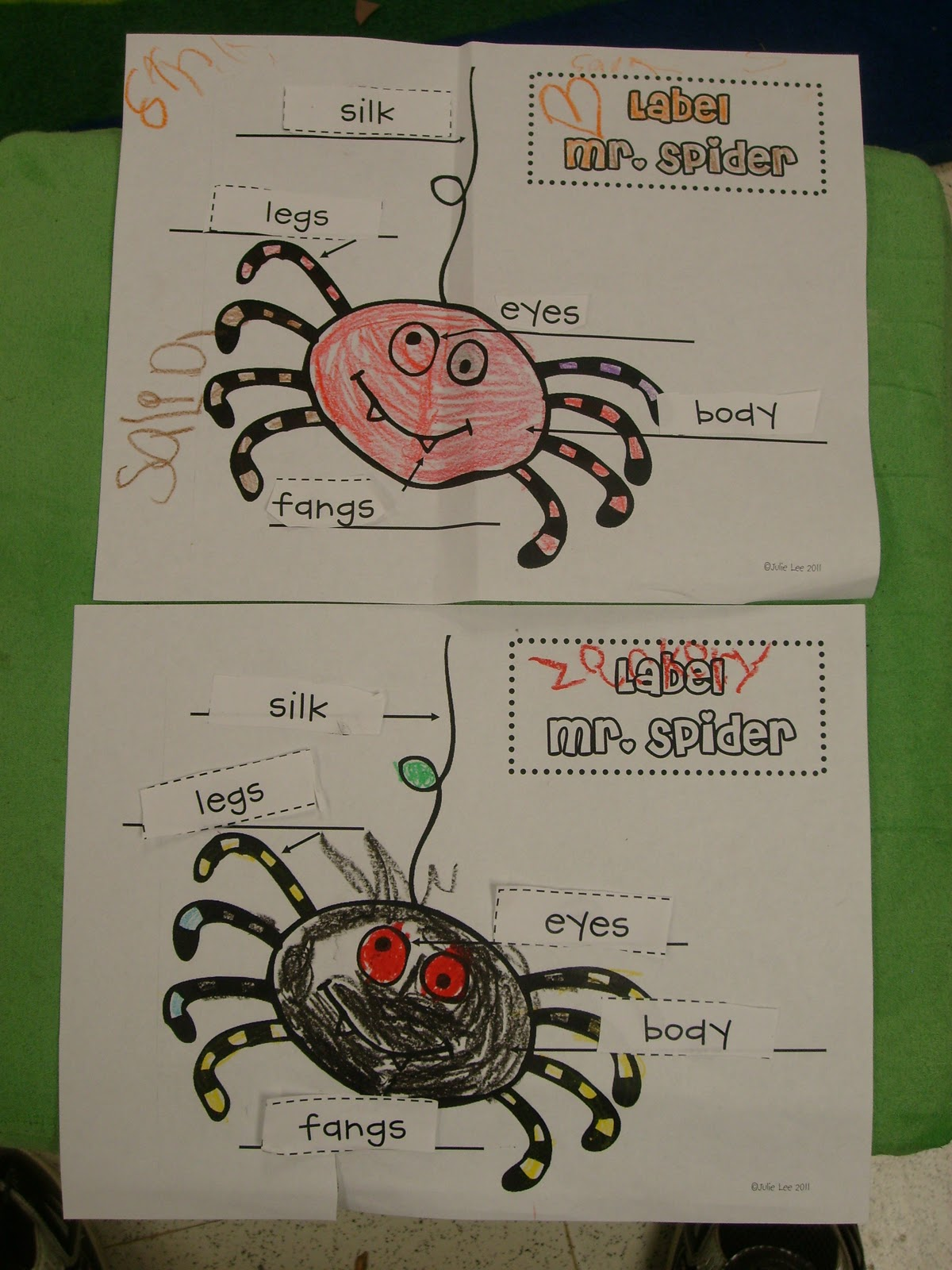 Allstarkinder Literacy Tubs And Spiders