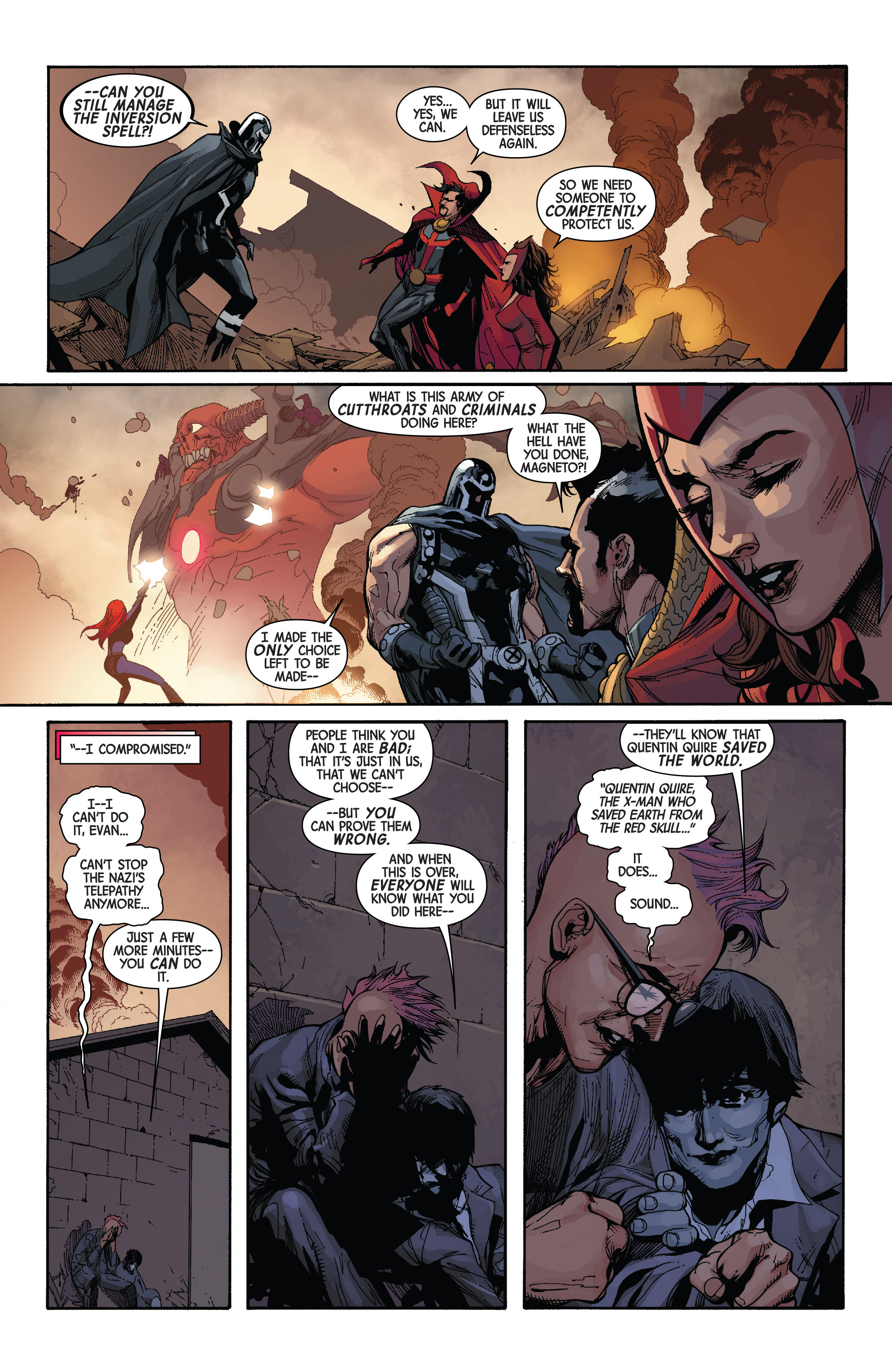 Read online Avengers & X-Men: AXIS comic -  Issue #3 - 15