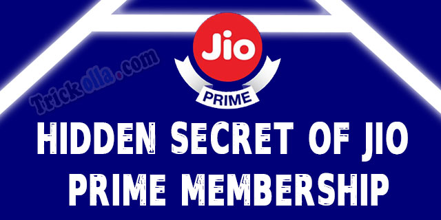 Hidden secrets of jio prime