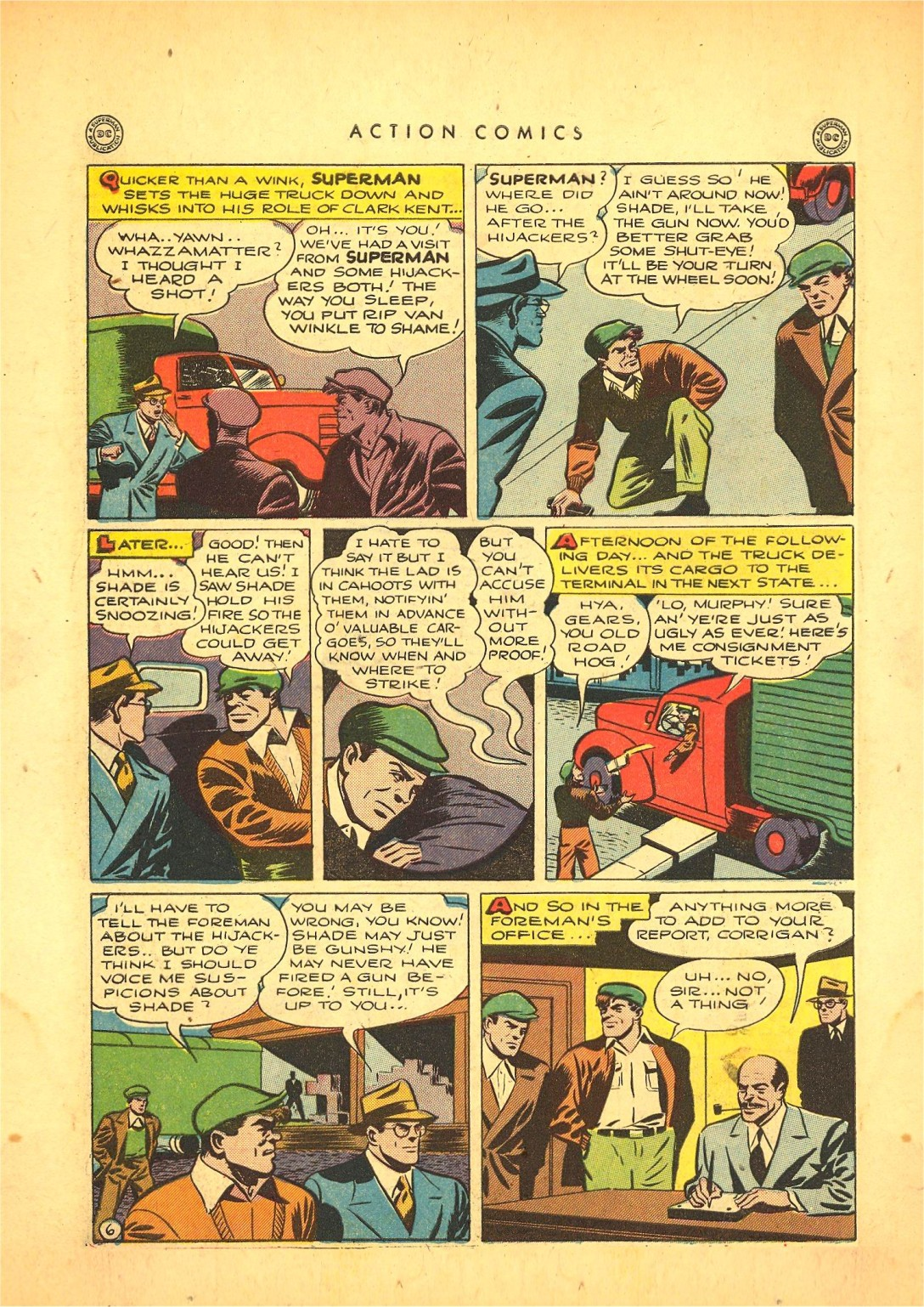 Read online Action Comics (1938) comic -  Issue #87 - 7