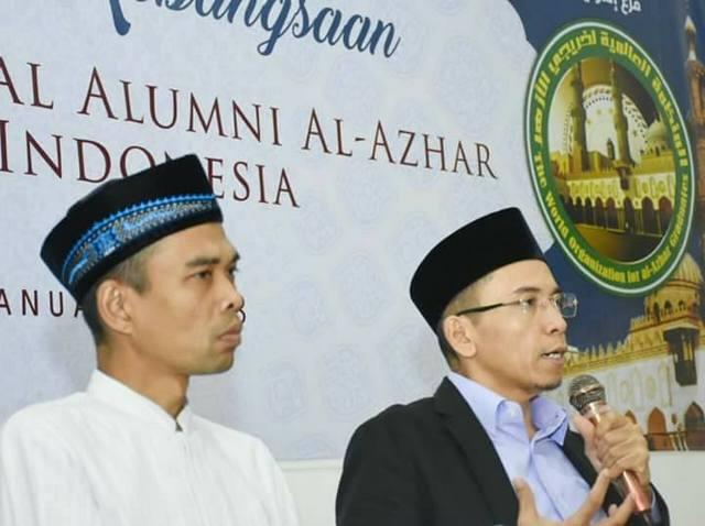 Tuan Guru Bajang Didaulat Jadi Capres 2019 Oleh Alumni Al-Azhar, Bagaimana Sikap Ustadz Abdul Somad?