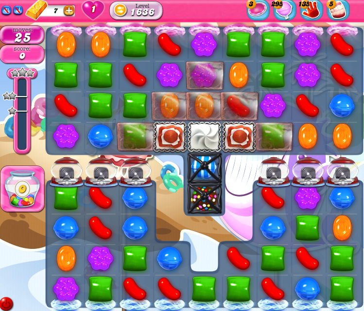 Candy Crush Saga 1636