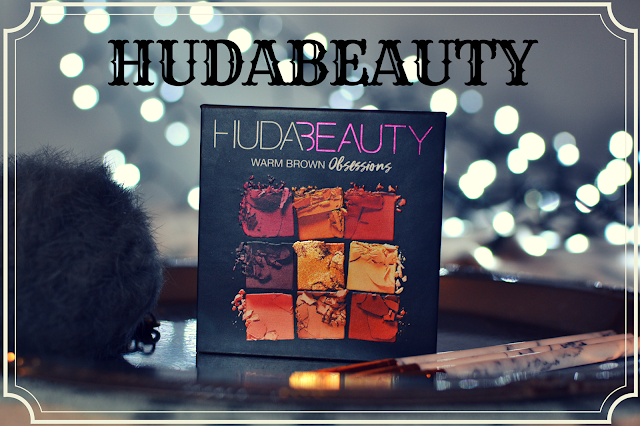 Recenzja palety - HUDABEAUTY - Warm Brown Obsessions
