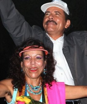 Daniel Ortega wife running mate