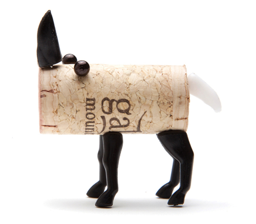 Cork Animals: Rafa-kids : DIY Cork Stopper Animals By Reddish Studio
