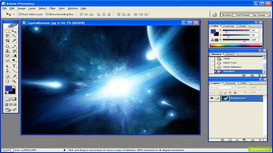 Photoshop CS3 screenshot 2