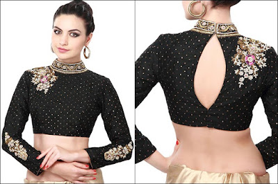 Black-Designer-Blouse