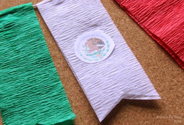 Una Mexicana en USA Guirnalda Tricolor para Celebrar la