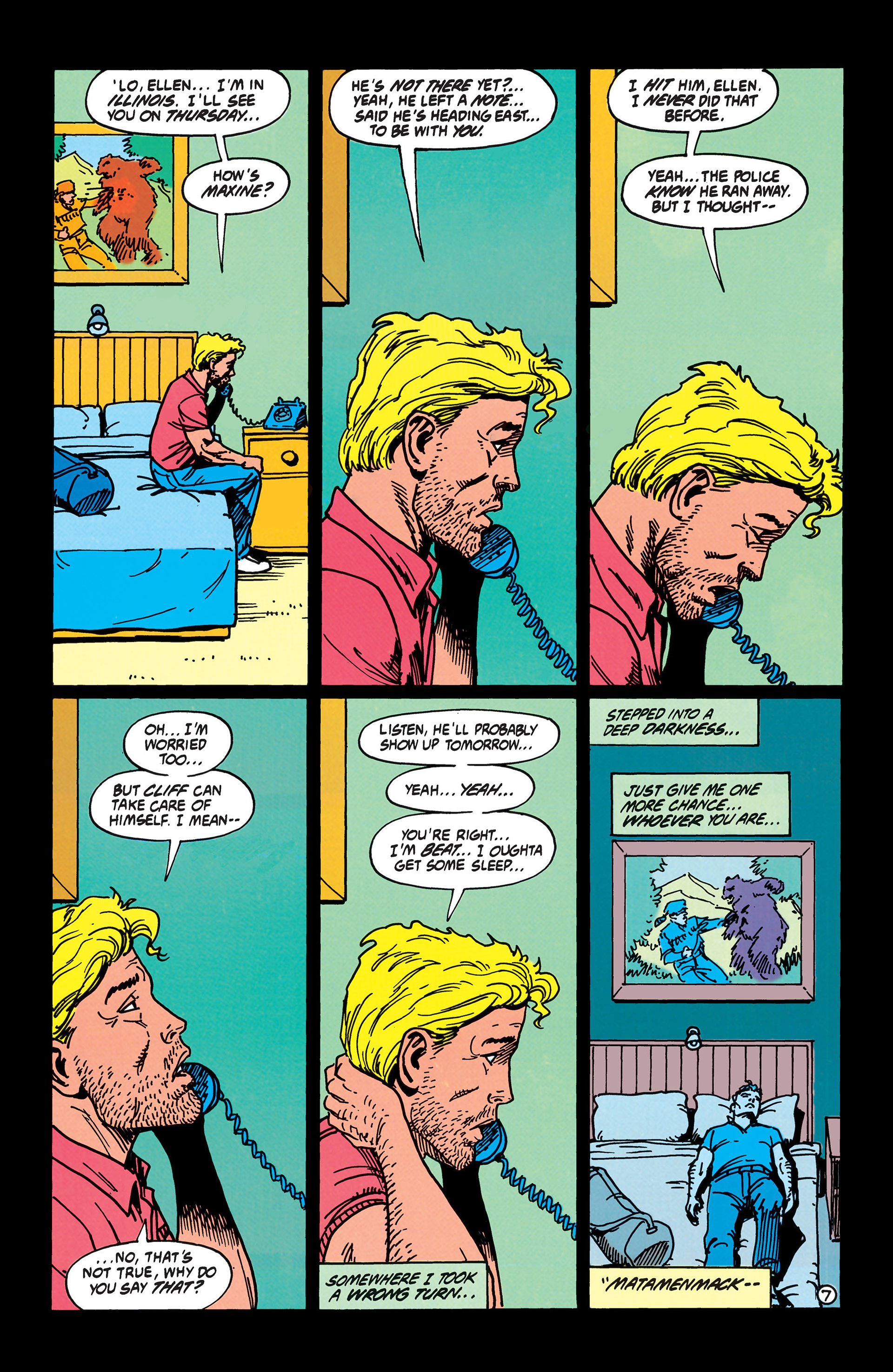 Read online Animal Man (1988) comic -  Issue #40 - 8