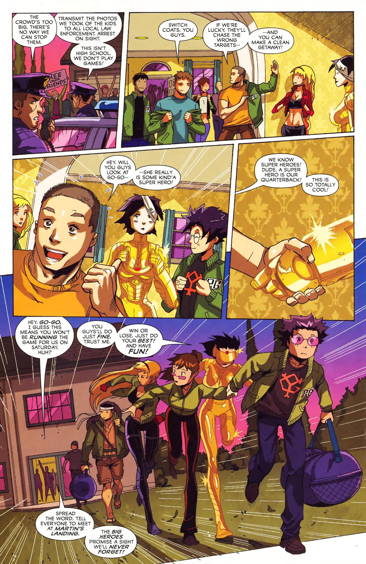 Big Hero Comic big hero 6 (2008) #5 - read big hero 6 (2008) issue #5 page 10