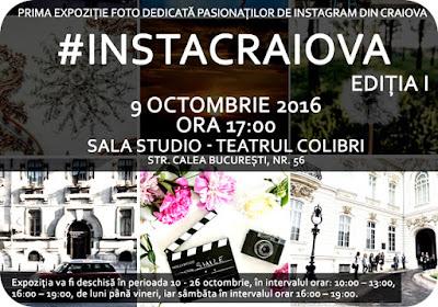 Expo #InstaCraiova pe 9 Octombrie