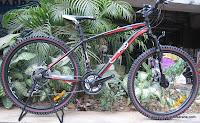 Sepeda Gunung RedFox RF301 21 Speed Shimano 26 Inci