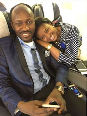 Apostle Suleman & Wife Celebrate 14th Wedding Anniversary
