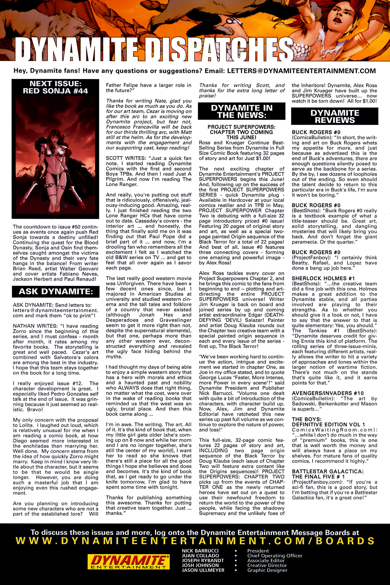 Read online Red Sonja (2005) comic -  Issue #44 - 30