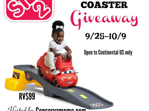 It's a Step2 Giveaway! Win a Disney Pixar Cars 3 Roller Coaster