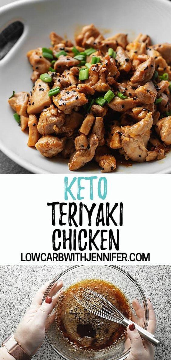 Keto Teriyaki Chicken