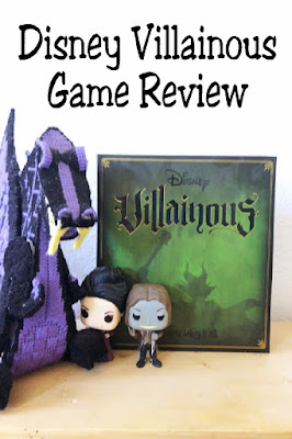 You get to be the villains and defeat the heroes while having a fun family game night with this Disney Villainous game.  Check out this overview and tips to start playing with your family. #disneyvillainous #gamereview #disney #diypartymomblog