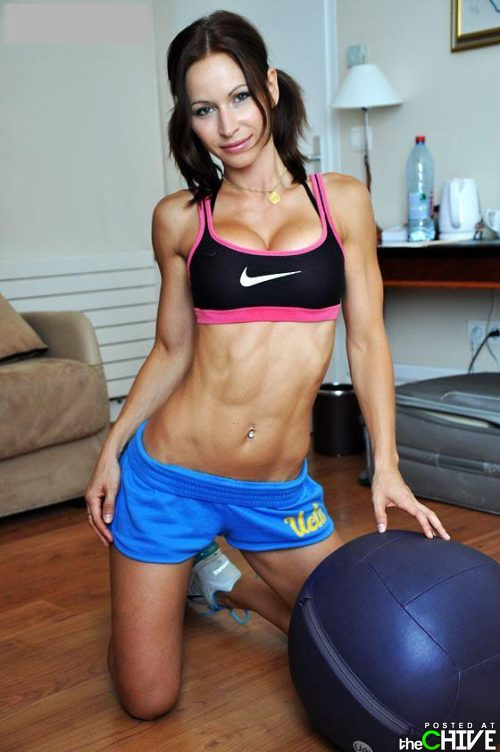Toned Female Abs