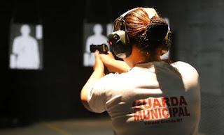Guarda Municipal de Várzea Grande (MT) recebe treinamento e começará a utilizar armas de fogo