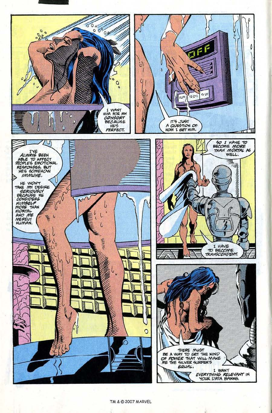 Silver Surfer (1987) issue 66 - Page 10