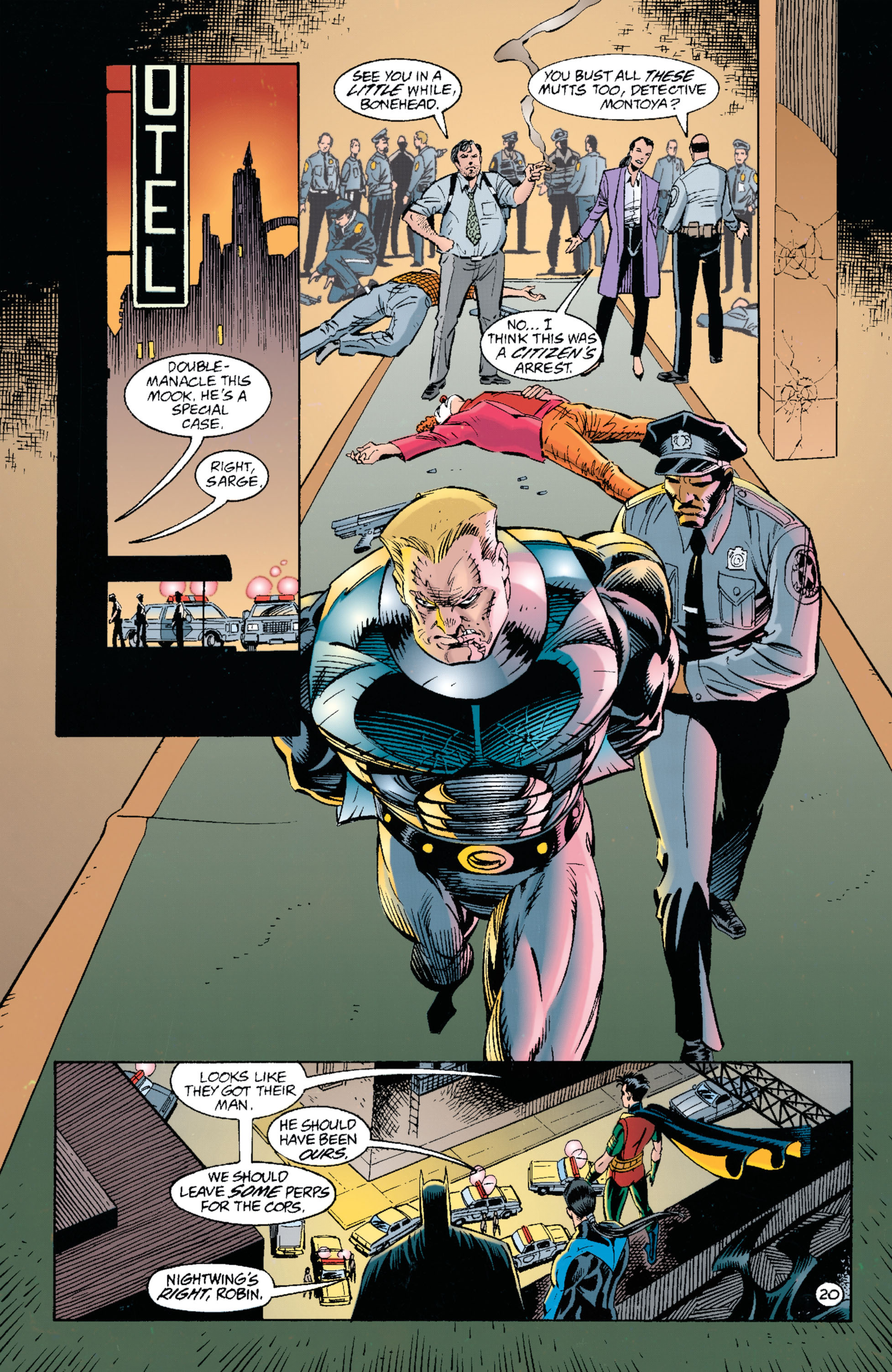 Detective Comics (1937) 697 Page 19