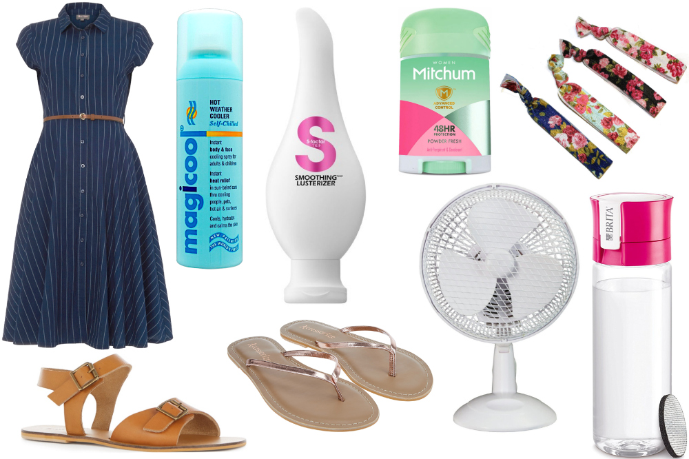 How to survive a heatwave in the office