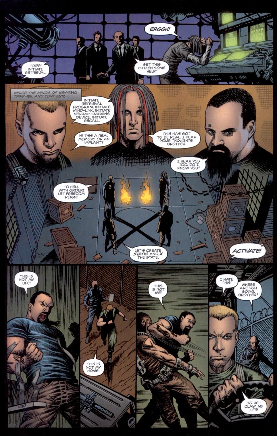 Read online Static-X: Machine comic -  Issue # Full - 10