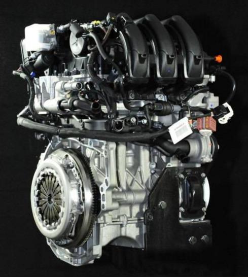 2017 Peugeot 6008 Engine