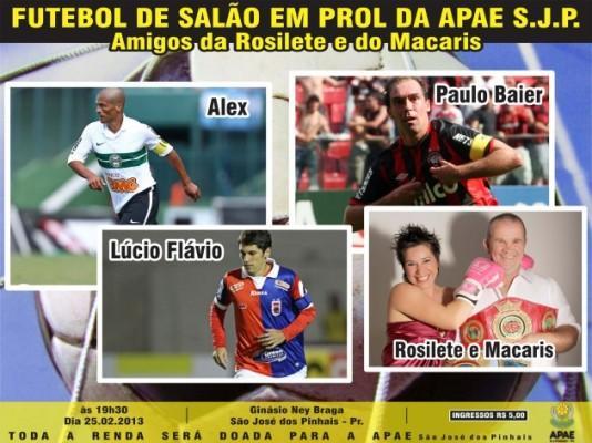 É nesta segunda  São José dos Pinhais recebe Trio de Ferro do Paraná em  torneio beneficente 94474cdc54514