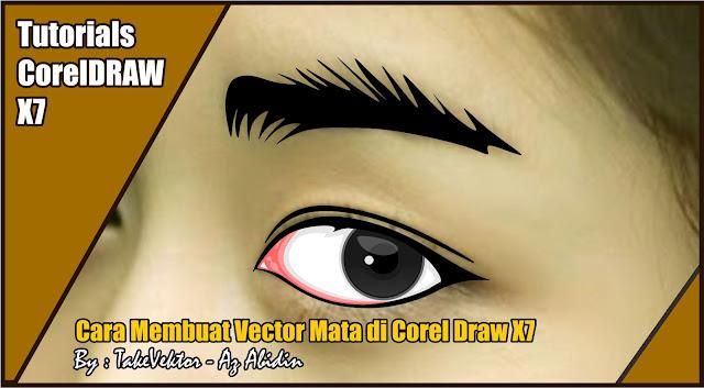 Cara Membuat Vector Mata di Corel Draw X7