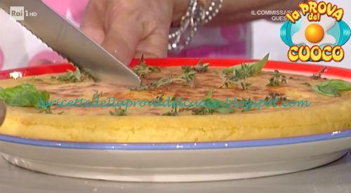 Pizza di patate con cotto e scamorza ricetta Moroni da Prova del Cuoco
