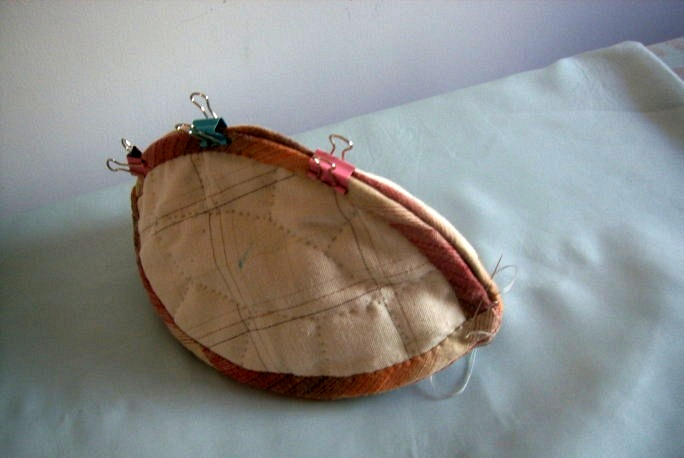 Craft Idea. Small Handbag Purse Patchwork. Photo Tutorial. Step by step DIY.