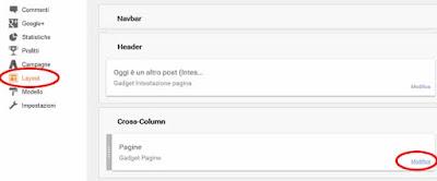 Come rimuovere un widget su blogger